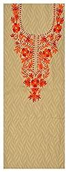 Astha Boutique Women's Cotton Kurta Fabric (Beige)