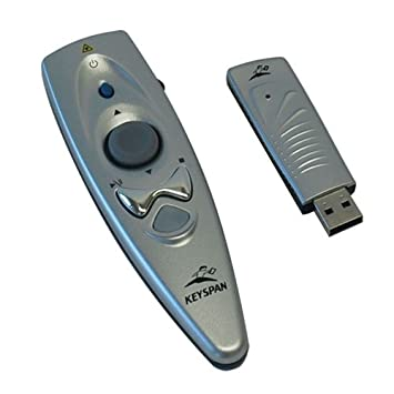 Keyspan by Tripp Lite PR-US2 Presentation Remote Wireless w Laser, Mouse Book Cover