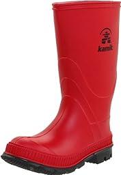Kamik Stomp Rain Boot (Toddler/Little Kid),Red,7 M US Toddler