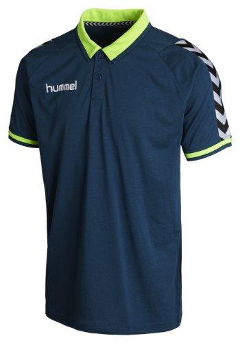Hummel, Polo Stay Authentic, Blu (Legion Blue), L