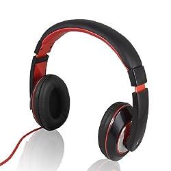 Gino Kanen IP-780 3.5mm Plug Headset Headphones Earphones w Mic for PC Laptop