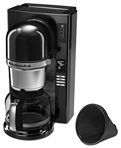 KitchenAid KCM0802OB Pour Over Coffee Brewer, Onyx Black Media Product Manuals Appliance Manuals