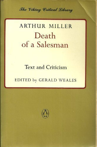 an analysis of the topic of the death of a salesman by arthur miller Death of a salesman addresses loss of identity and a man's inability to accept death of a salesman arthur miller buy character analysis willy loman.