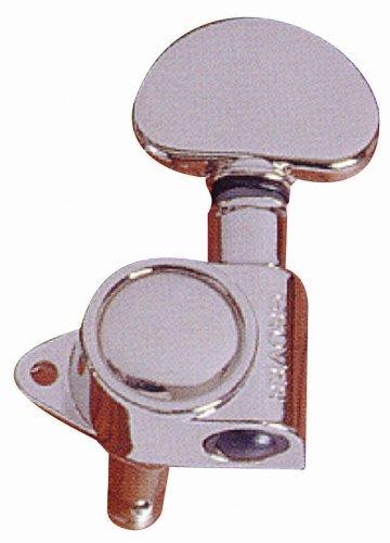 Grover 205C Mini 3 Per Side Machine Heads, Chrome
