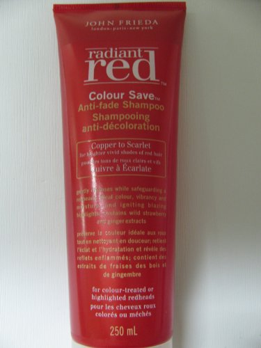 John Frieda Radiant Red Color Save Anti-Fade Shampoo front-56914