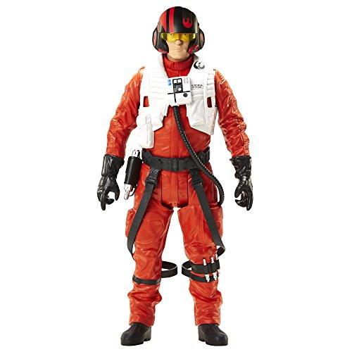 Star Wars - Action Figure di Poe Dameron, Episodio VII - Il risveglio della Forza si risveglia, ca. 46 cm