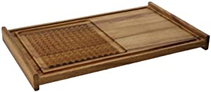 Ironwood Carving Board with Pyramid