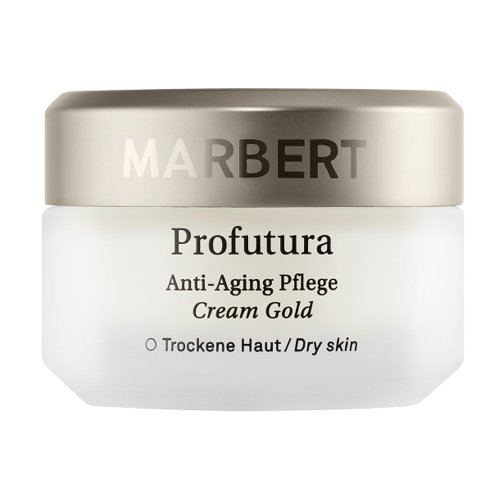 Marbert PROFUTURA - Gold Anti-Aging Cream 50ml / Aging Pflege für bis sehr trockene