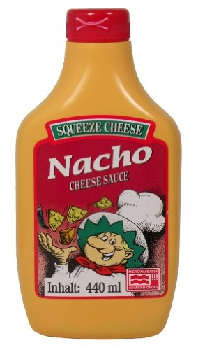 Squeeze Cheese - Nacho Cheese Sauce - 440 ML