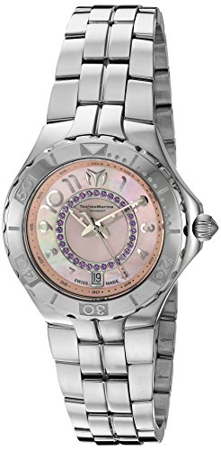 Technomarine-Womens-Sea-Pearl-Swiss-Quartz-Stainless-Steel-Casual-Watch-Model-713011