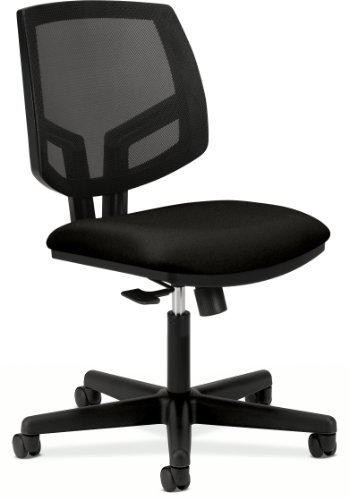 HON Volt Mesh Back Task Chair for Office or Computer Desk, Black