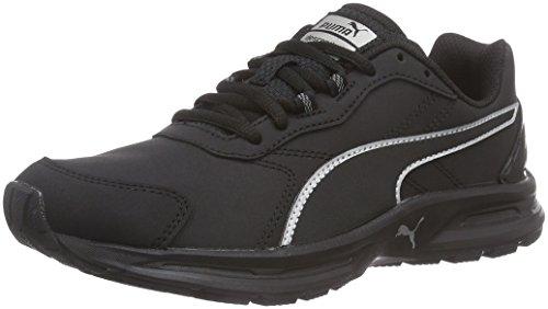 Puma - Descendant V3 Sl, Sneakers, unisex, Nero (Schwarz (black-black-puma silver 03)), 44