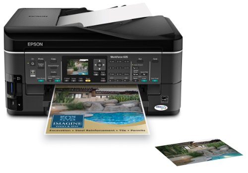 Epson WorkForce 635 Color Inkjet All-in-One (C11CA69201)