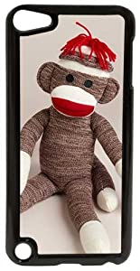 CellPowerCasesTM Sitting Sock Monkey Case for Apple iPod Touch 5G - Fits iPod 5th Generation