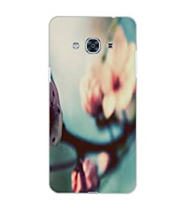 SAMSUNG GALAXY J3 PRO FLOWER Back Cover by PRINTSWAG