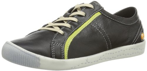 Softinos Womens Irina combination Low multi-coloured Mehrfarbig (black/lime 531) Size: 36
