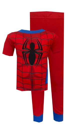 Marvel Comics Spiderman Spidey Suit Pajamas For Boys (8) back-458739