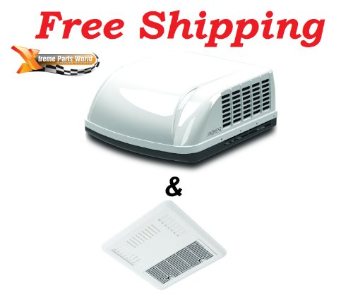 Advent RV/Camper 15,000 BTU Ducted Air Conditioner (w/Heat Strip Thermostat) Complete Kit Motorhome/fifthwheel/Concession Trailer/Horse/Race car/house boat (FR)