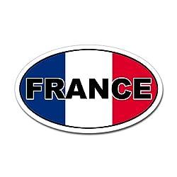 CafePress French Flag Oval Sticker Sticker Oval - White