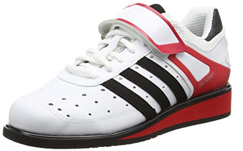 Adidas Power Perfect Ii - Scarpe Sportive Indoor Unisex adulti, Bianco, 43 1/3 EU
