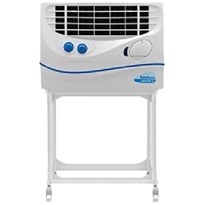 Symphony Kaizen Jr. 22-Litre Air Cooler with Trolley (White)
