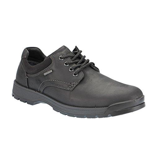ARA 11-29701 uomo Derby laccio semi scarpe., Nero (nero), 43 EU