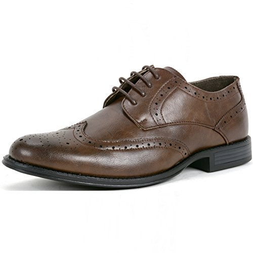 alpine-swiss-zurich-mens-dress-shoes-brogue-wing-tip-laceup-oxfords-brown-9-m-us