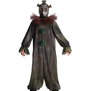 Rubies Kids Scary Serial Killer Mask Clown Halloween Costume