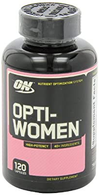 Optimum Nutrition Opti-Women, Women's Multivitamin, 480-Count (High Potency)