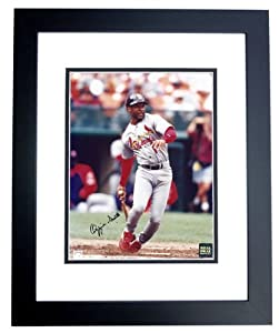 Ozzie Smith Autographed Hand Signed St. Louis Cardinals 8x10 Photo - BLACK CUSTOM... by Real Deal Memorabilia