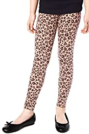 Limited Cotton Rich Leopard Print Leggings