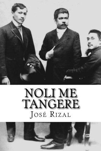 noli me tangere book report tagalog