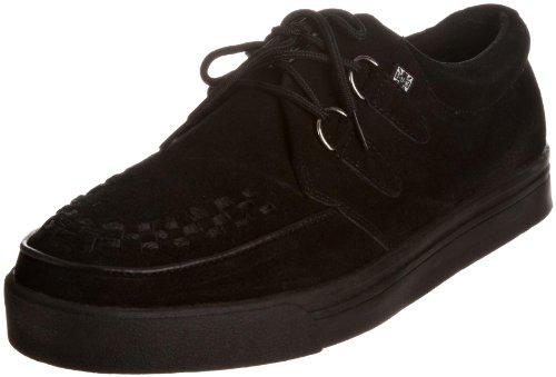 T.U.K Mens 2 Ring Creeper Sneaker Black Black A6061 10 UK