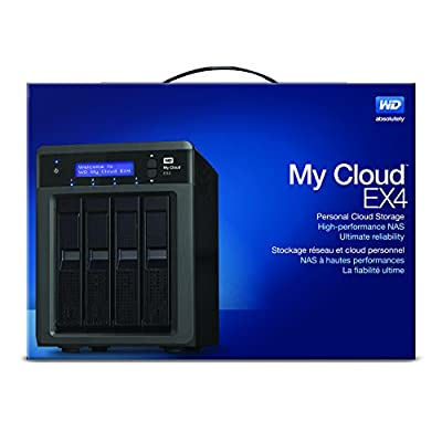 WD My Cloud EX4 12 TB: Pre-configured Network Attached Storage featuring WD Red Drives