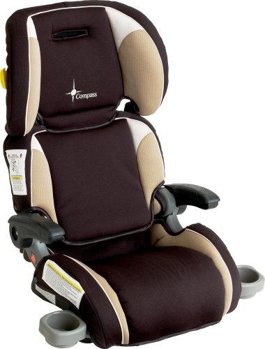 the first years compass ultra folding booster car seat cappuccino. Black Bedroom Furniture Sets. Home Design Ideas