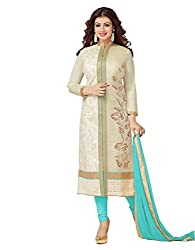 Navya Woman's Cotton Unstitched Dress Material