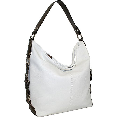 punto-uno-bucket-bag-with-belted-gusset-straps-white