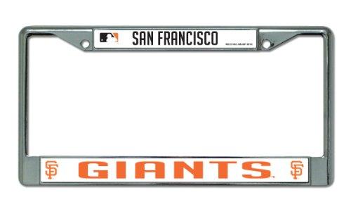 MLB San Francisco Giants Chrome License Plate Frame