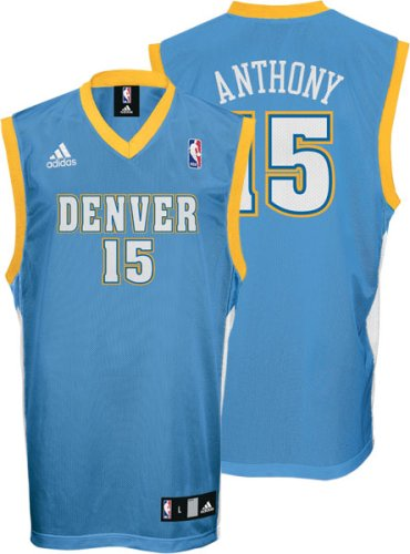 Detailed to look like Carmelo Anthony's real jersey, sized for a youth,