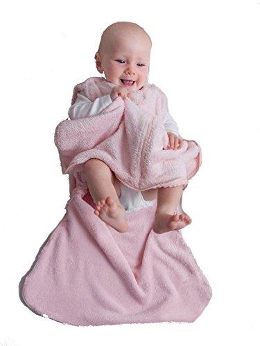 Gunamuna Gunapod Wearable Baby Sleepsack, Tickled Pink, Small