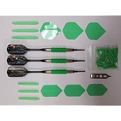 Buy 16 Gram Neon Green Viper Sure Grip & Neon Green Accessory Kit - Dart Brokers by PURE-SHOT