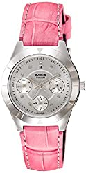 Casio Enticer Silver Dial Womens Watch - LTP-2083L-4AVDF (A532)