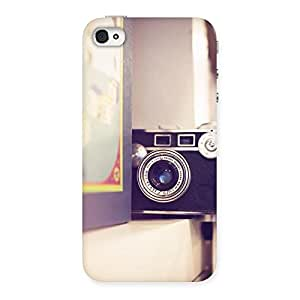 Cute Pastel Camera Back Case Cover for iPhone 4 4s