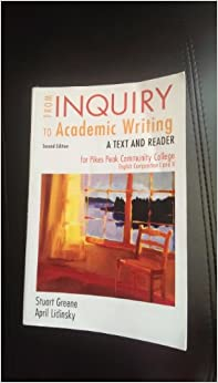 From Inquiry to Academic Writing: A Practical Guide 3rd Edition