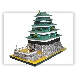 【クリックで詳細表示】ペーパークラフト 日本名城シリーズ 1/300 復元 江戸城