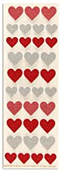 Martha Stewart Crafts Glitter Heart Stickers By The Package