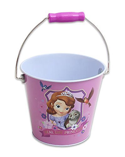 "Disney Princess Sofia the First Party Favors Bucket, 6"" Medium - 1"