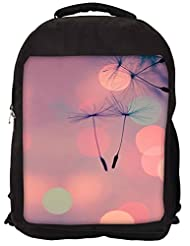 Snoogg Dandelions At Sunset Backpack Rucksack School Travel Unisex Casual Canvas Bag Bookbag Satchel