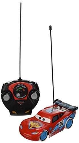 Majorette 213089590 - Cars RC Saetta MC Queen Ice, Scala 1:24, Funzione Turbo