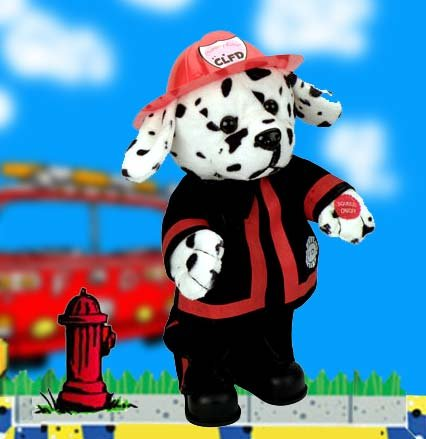 Sparky The Firehouse Dalmatian sings 'Ring of